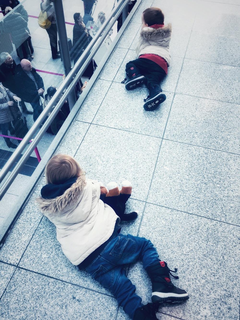 Flughafenbesuch mit Kindern